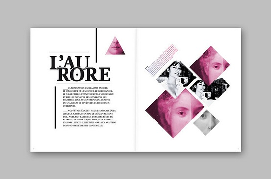 Layout inspiration bridallas kcai process blog for Layout book design inspiration